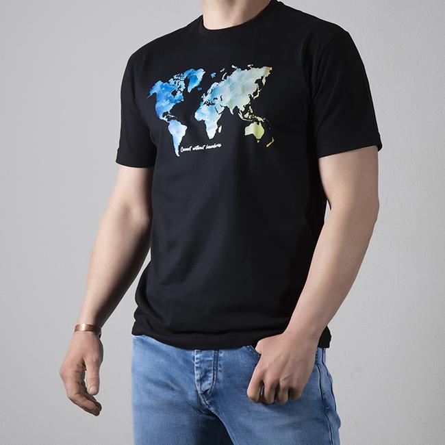 تیشرت نقشِ جهان (نخی) 1