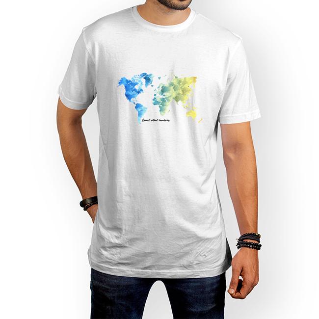 تیشرت نقشِ جهان (پلی استر) 1