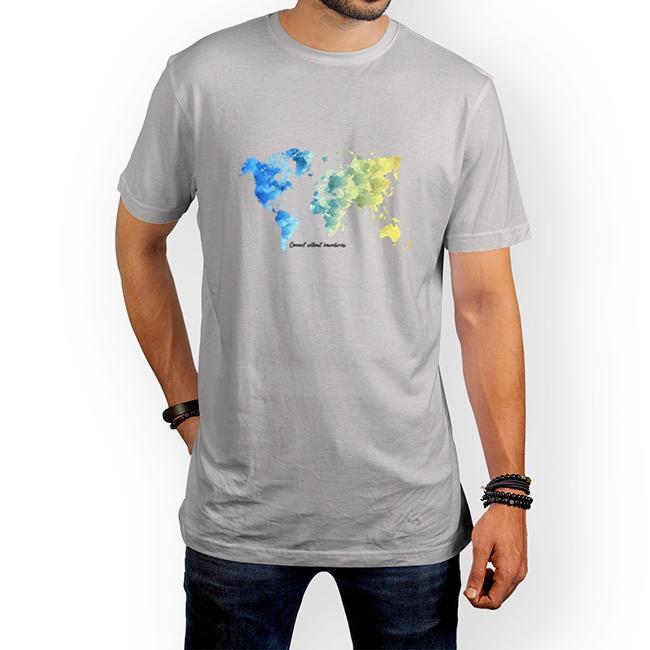 تیشرت نقشِ جهان (پلی استر) 2